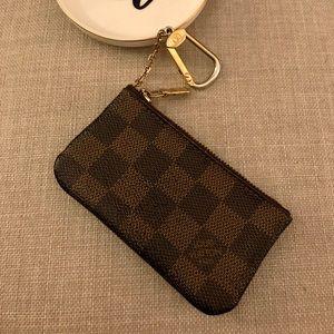 Authentic Louis Vuitton DE Cles Coin & Key Pouch